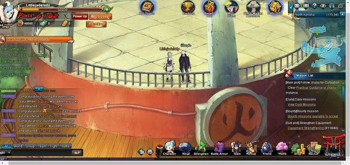 Naruto: Azure x Midnight - In game photos (12-26-2016) - Wattpad