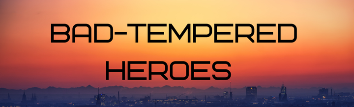 """This is the Dragonlords of Earth Series 's first book, """"Bad-Tempered Heroes"""""""