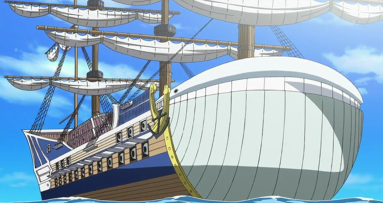 """Ada tiga kapal Bajak Laut White Beard!"""