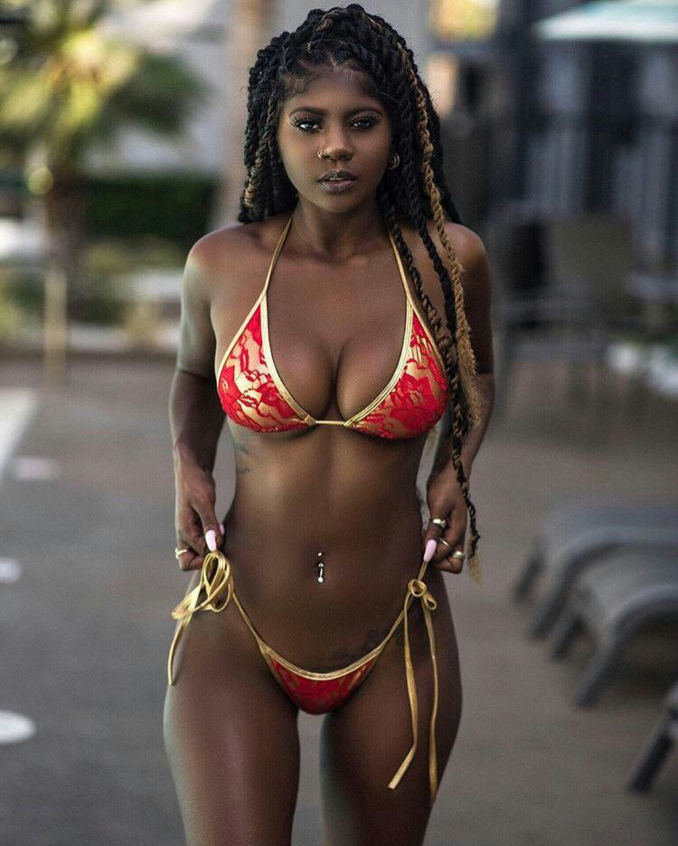Jamaican female model