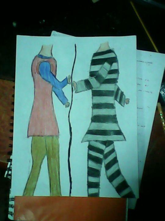 Los Dibujos Legendarios - el niño del pijama de rayas