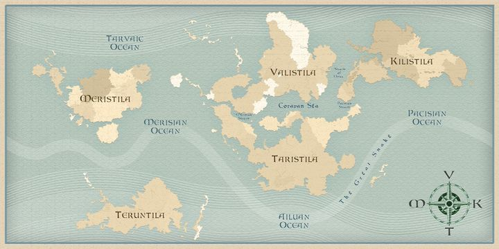 This map will be updated occasionally as the book progresses, so do check back from time to time