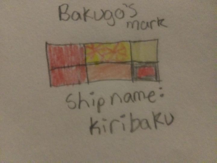 This one is Izuku's the next is Bakugou's