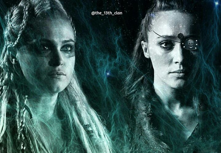 "Lexa will always love you, she will always be with you,"" Thayer spoke with a knowing smile"