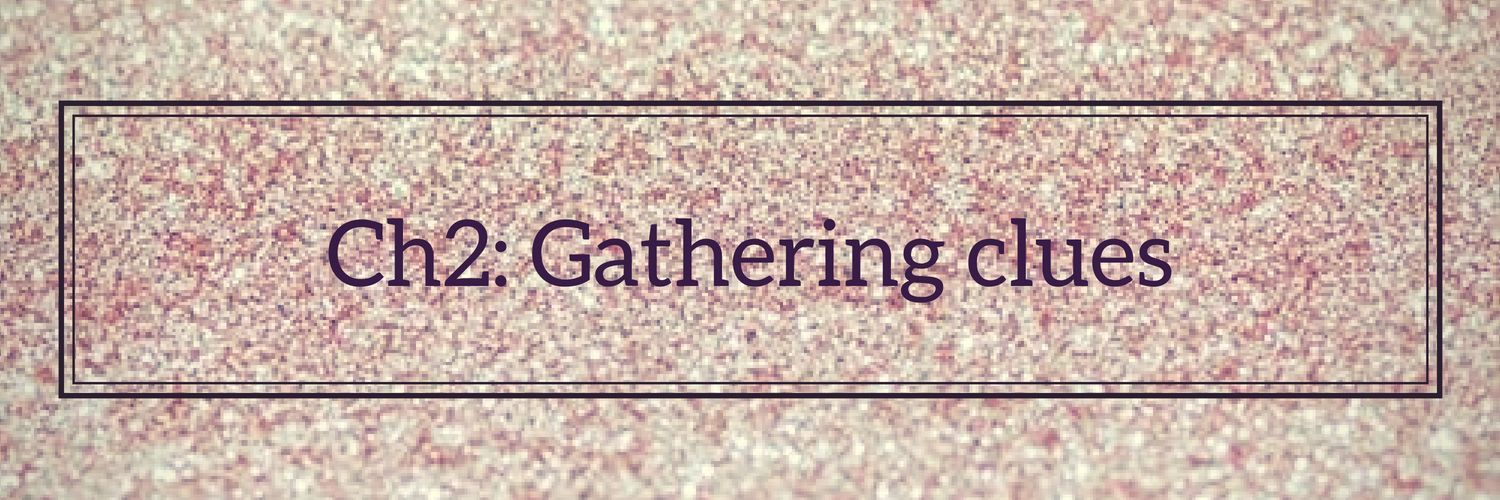 •||Ch2: Gathering clues||•