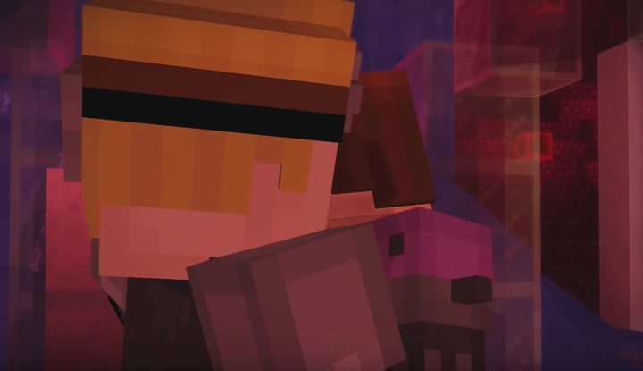 Minecraft Story Mode Lovers Male Jesse X Lukas Prologue A