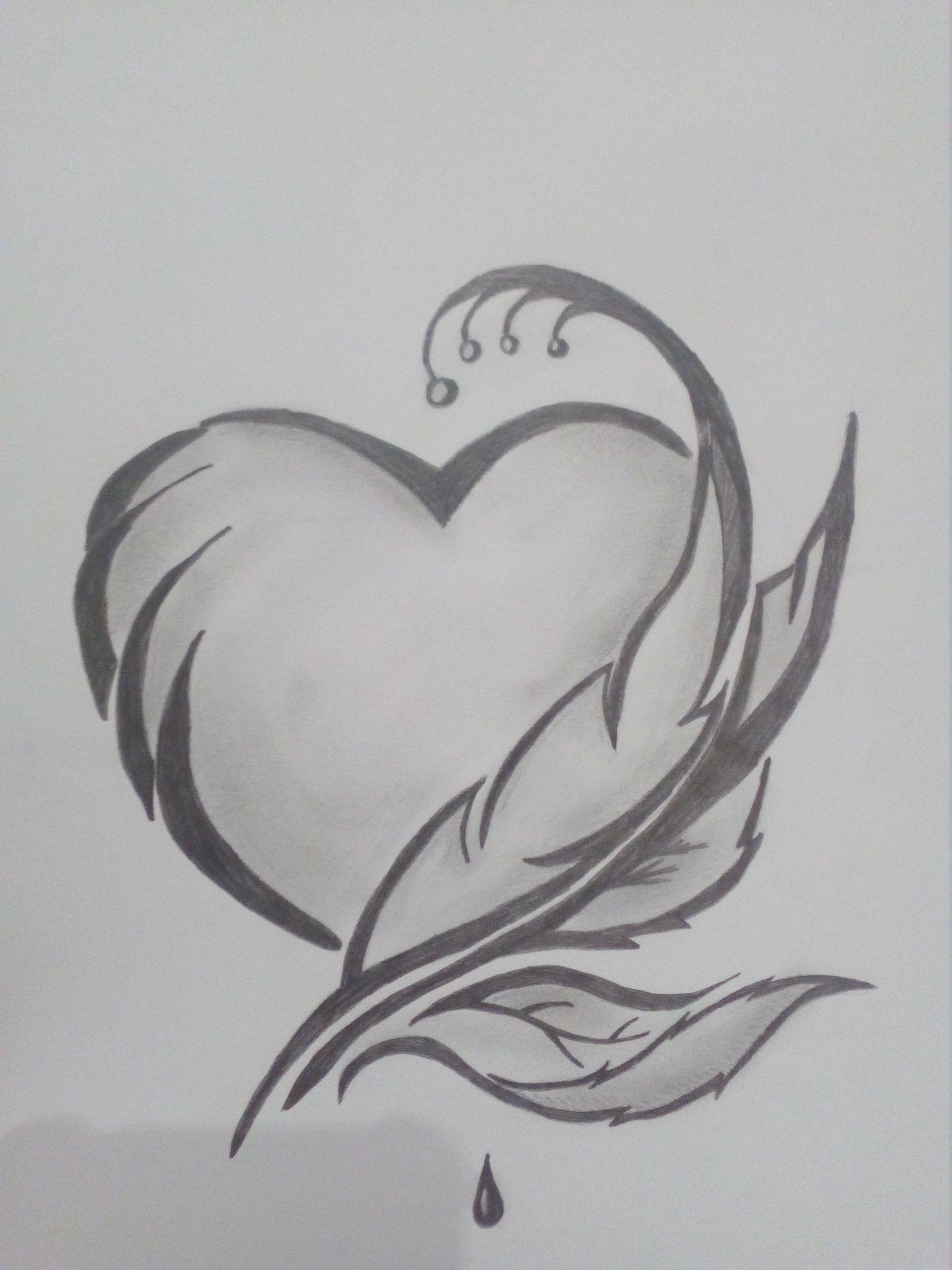 Moje Kresbicky 7 Obrazek Srdce Wattpad