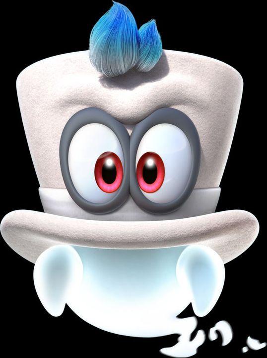 Super Mario Odyssey Cappy Wattpad