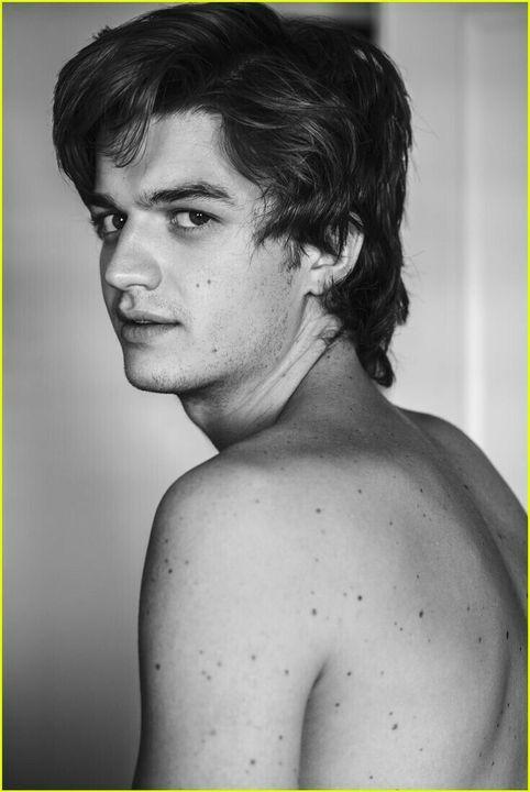 Joe Keery é um ator e músico nascido no dia 24 de abril de 1992 (26 anos) em Heredia, Costa Rica