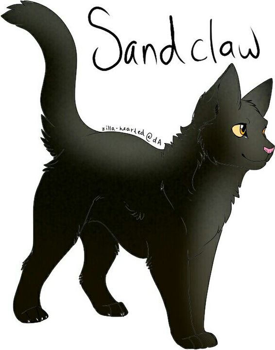 Another pic of Cherrypaw with Celestial (in his Starclan form) ignore his wings btw also, sorry if looks bad