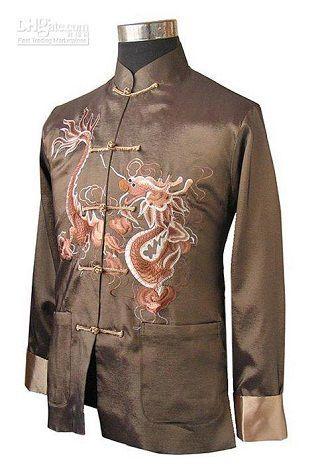 * Trường bào mã quái :Trang phục truyền thống tiêu biểu của giới nam gồm có: Trường Bào, Mã Quái (một dạng áo khoác bên ngoài), hai loại trang phục này đều là trang phục của dân tộc Mãn Thanh