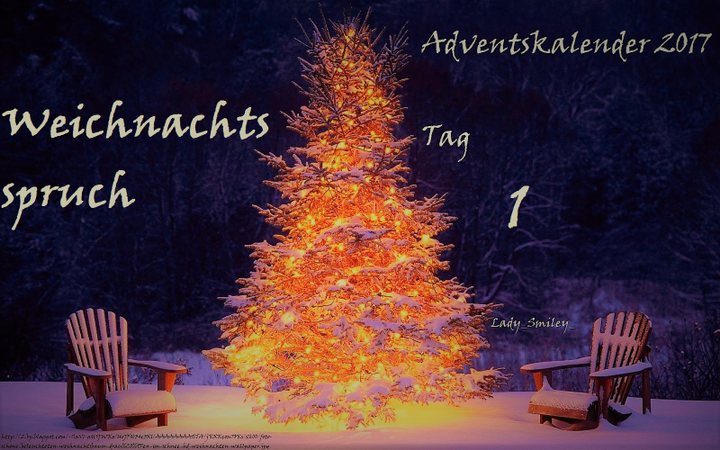 Sprüche Weihnachtskalender.Sprüche Fakten Zitate And More 2 Adventskalender 1 Dezember