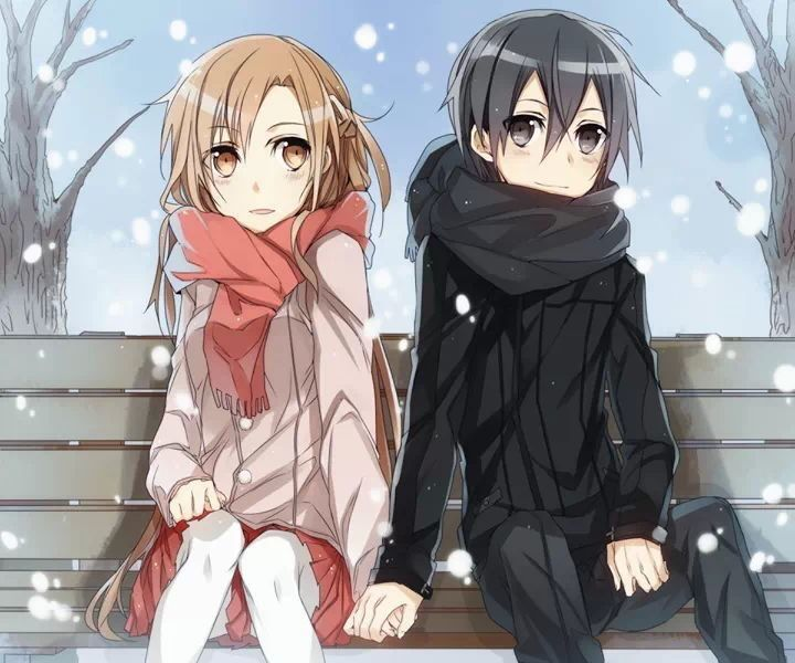 You and i kirito x asuna discontinued seasons - Cute anime couple pictures ...