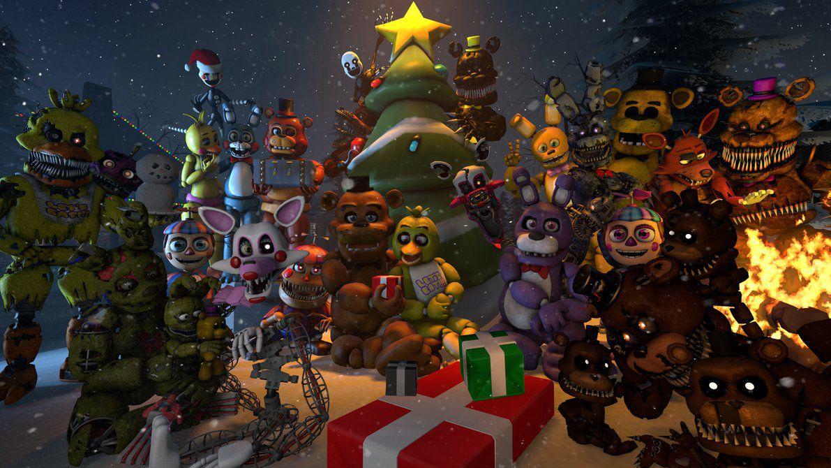 Fnaf Christmas.Fnaf Christmas Fnaf Christmas Wattpad