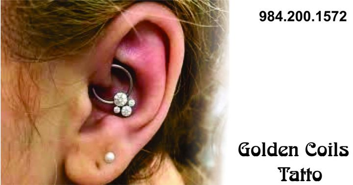 The artists at  & Piercing, in downtown Raleigh, have amazing talent that can bring your design and vision to life