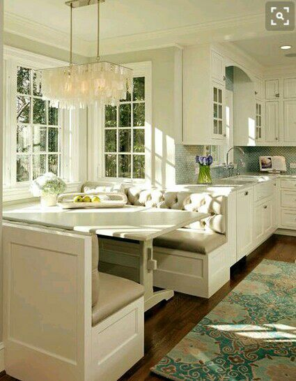 I admired the kitchen counters and the stove