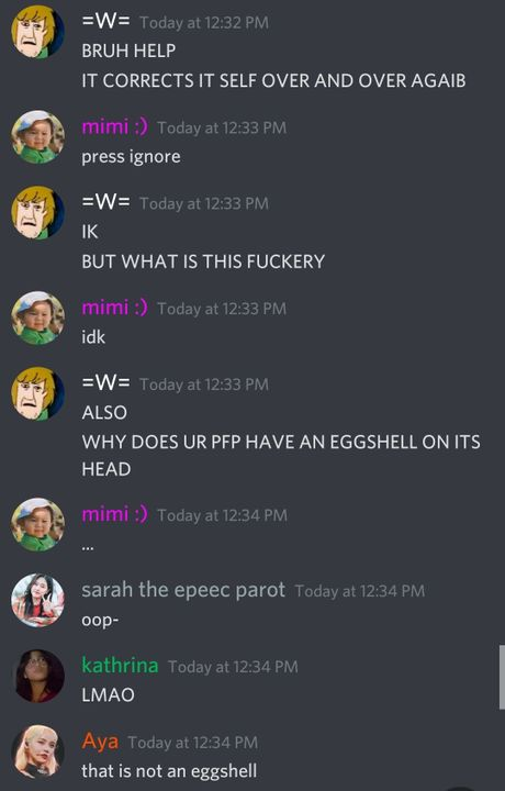 Idk wtf is going on I just got on discord and saw this 👁👄👁