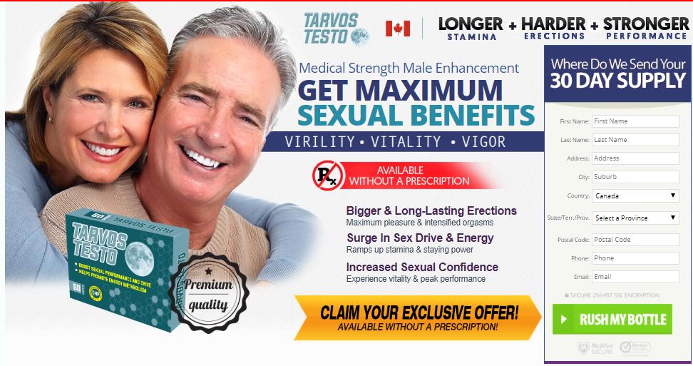 Where to Buy  Tarvos Testo Canada: