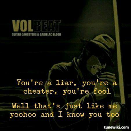 Band Quotes - Volbeat - Wattpad
