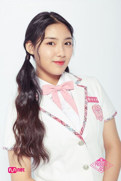 Image result for Han Cho Won 'Produce 48' .