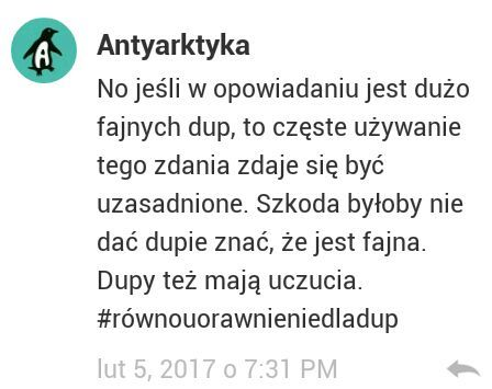 Najlepsze Komentarze Fajne Dupy Wattpad