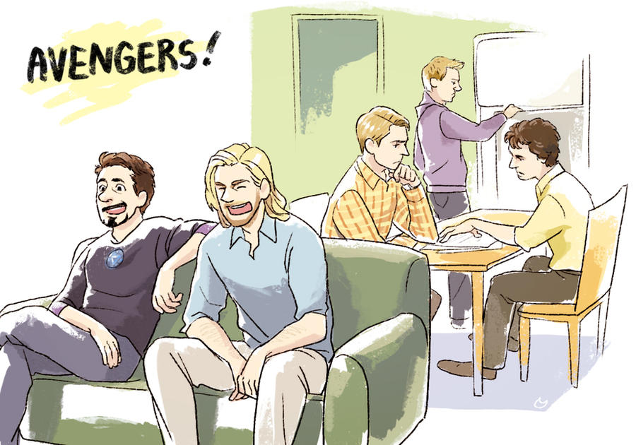 Introduction Avengers X Reader By – Dibujos Para Colorear