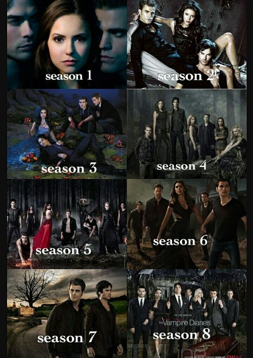 The Vampire Diaries Oder The Originals Staffel 1 Vs Staffel 8