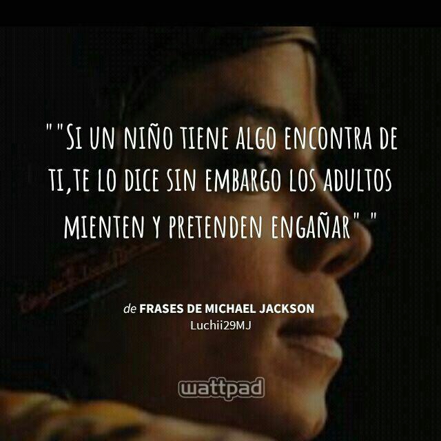 Frases De Michael Jackson 21 Wattpad