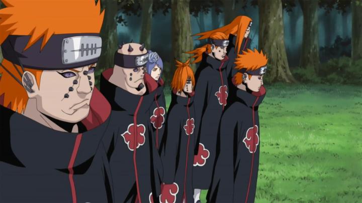 - Me gustaría que después siguieran con su conversación - Vi que 7 siluetas se acercaban, acaso con esas 5 personas se enfrento Jiraiya