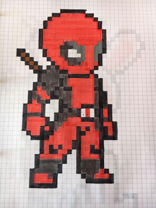Pixel Art Deadpool Wattpad