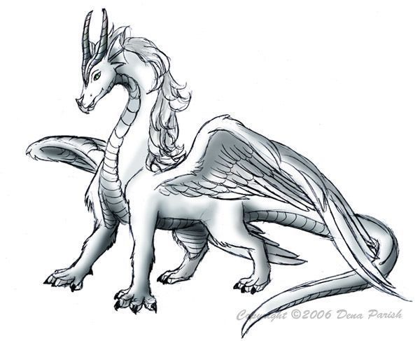 (This is how you look as a dragon