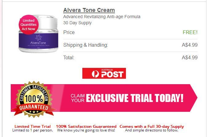 So, in general, Alvera Tone does not have any side effects