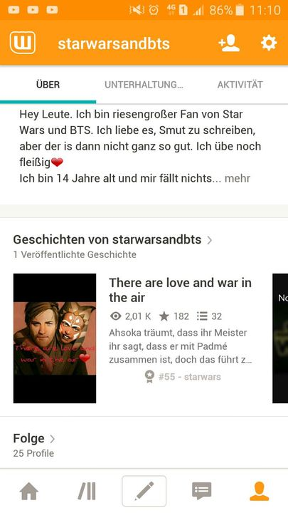 There Are Love And War In The Air Pausiert Danke