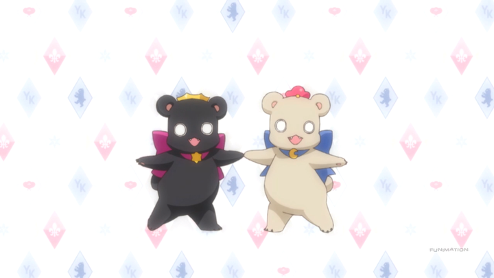 And the bear form for the ones that haven't seen the anime: