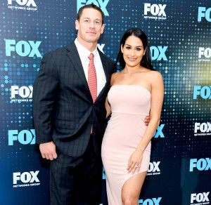 The wrestler-turned-movie star recently told People he already felt married to Bella