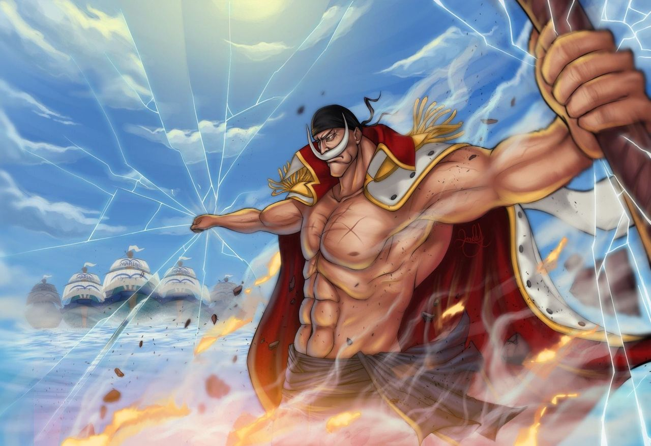 "Ini sebenarnya adalah buah Gura Gura no Mi dari white beard ""orang terkuat di dunia"" legendaris!"