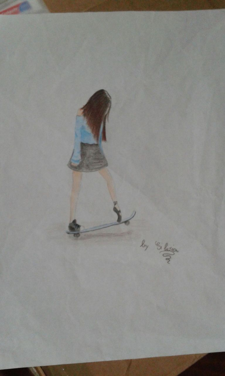 I miei disegni ragazza tumblr wattpad for Disegni bianco e nero tumblr
