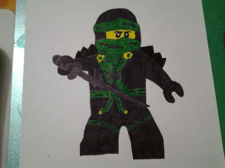 Ninjago Art Cinquieme Dessin Lloyd Wattpad