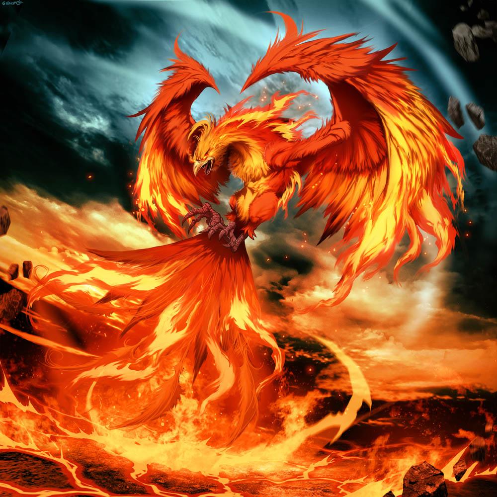 creatures phoenix mythological mythical creature mythology firebird mystical fire animal pheonix myth legends bird purple beasts fenix wattpad rising tail