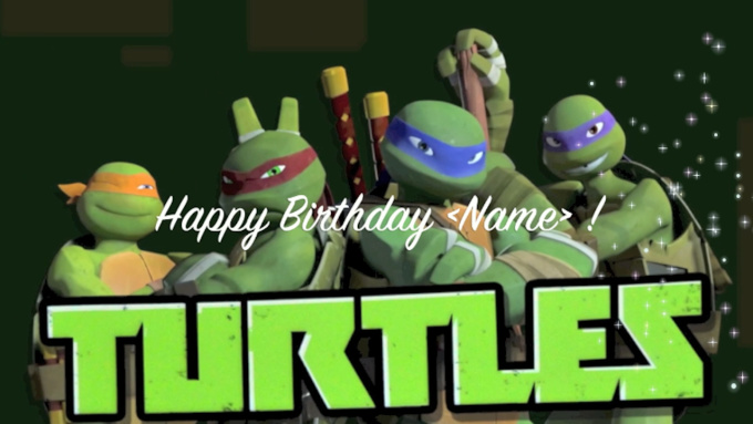 TMNT Boyfriend Scenarios - When it's your birthday - Wattpad