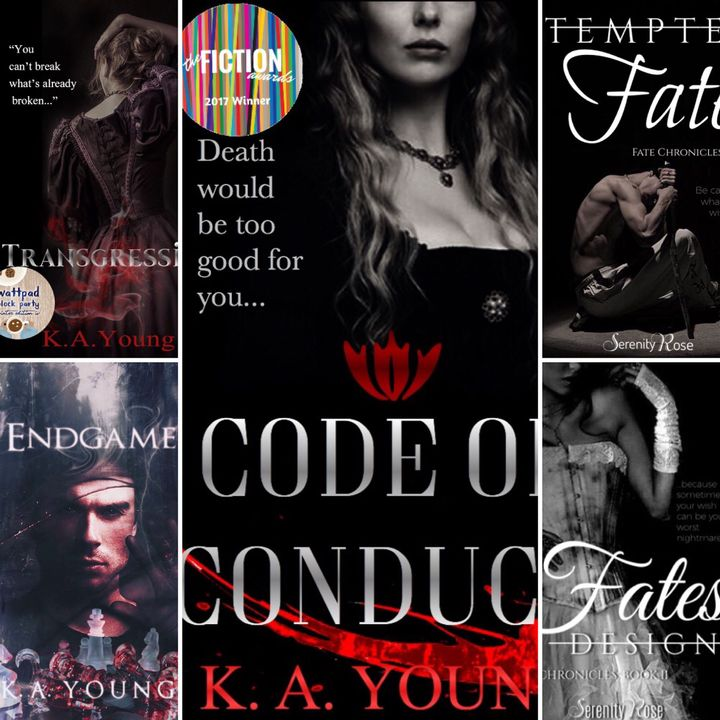This series has everything; vampires, werewolves, hybrids, half-breeds, faeries, mermaids and demons galore!