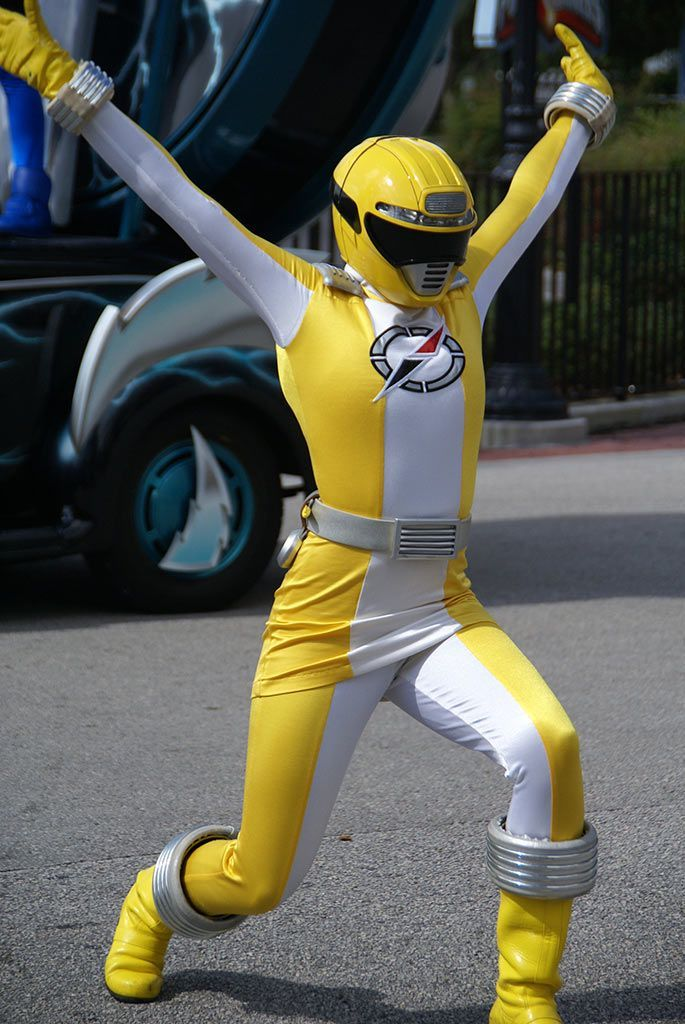 """""""So, say that the whole power ranger route didn't work out?"""""""