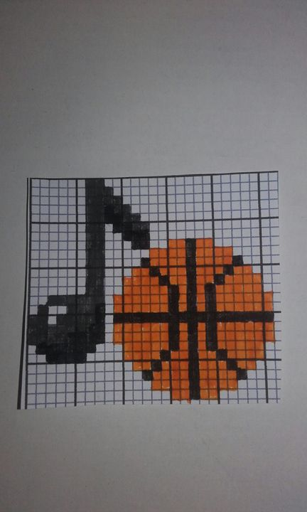 Pixel Art Terminé Note Basket Wattpad