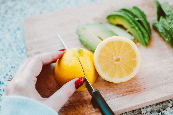 You know lemon has vitamin c which is important; it boosts the immune system and detoxifies your body as well