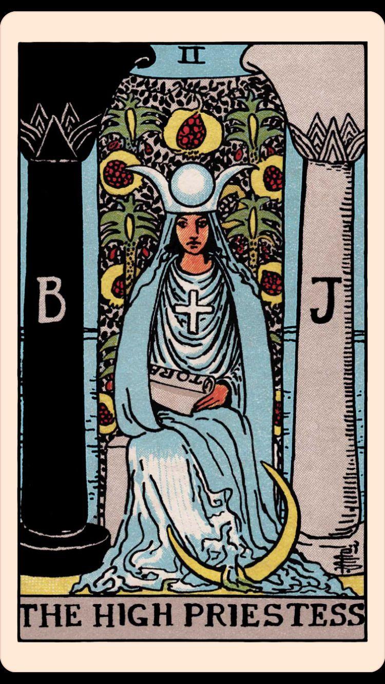 Lá The High Priestess