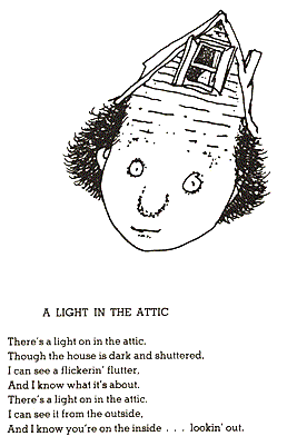 Fandom Poems And Songs A Light In The Attic By Shel