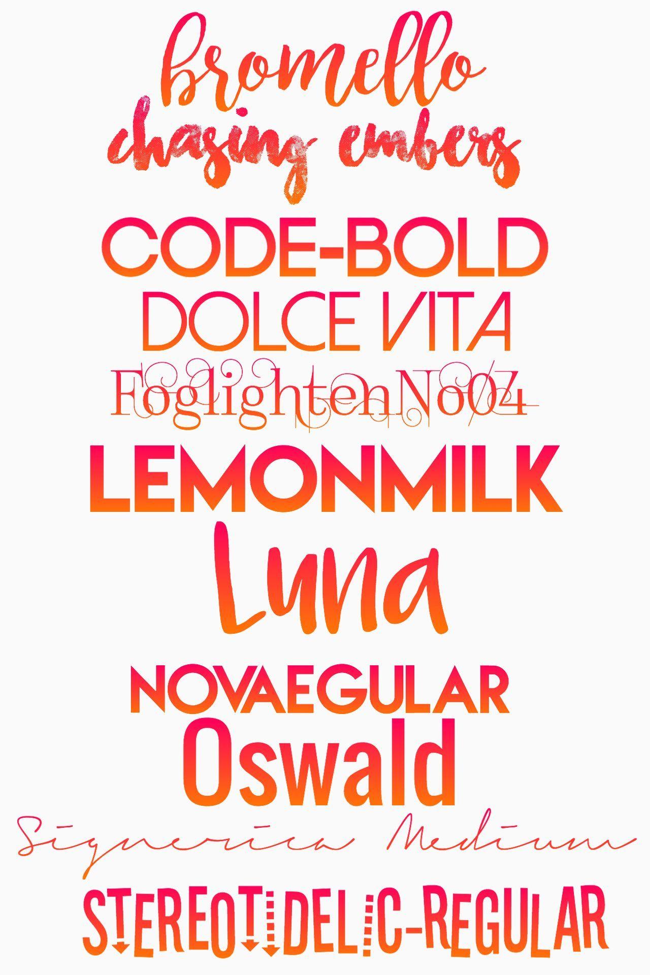 Cover Tips - 02   font list - Wattpad