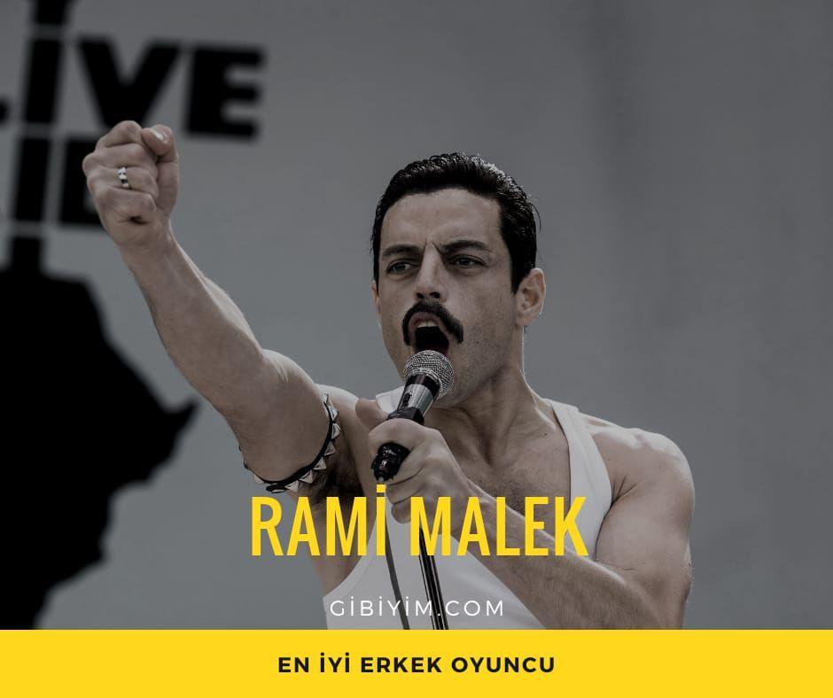 """Rami Malek, """"Bohemian Rhapsody"""""""