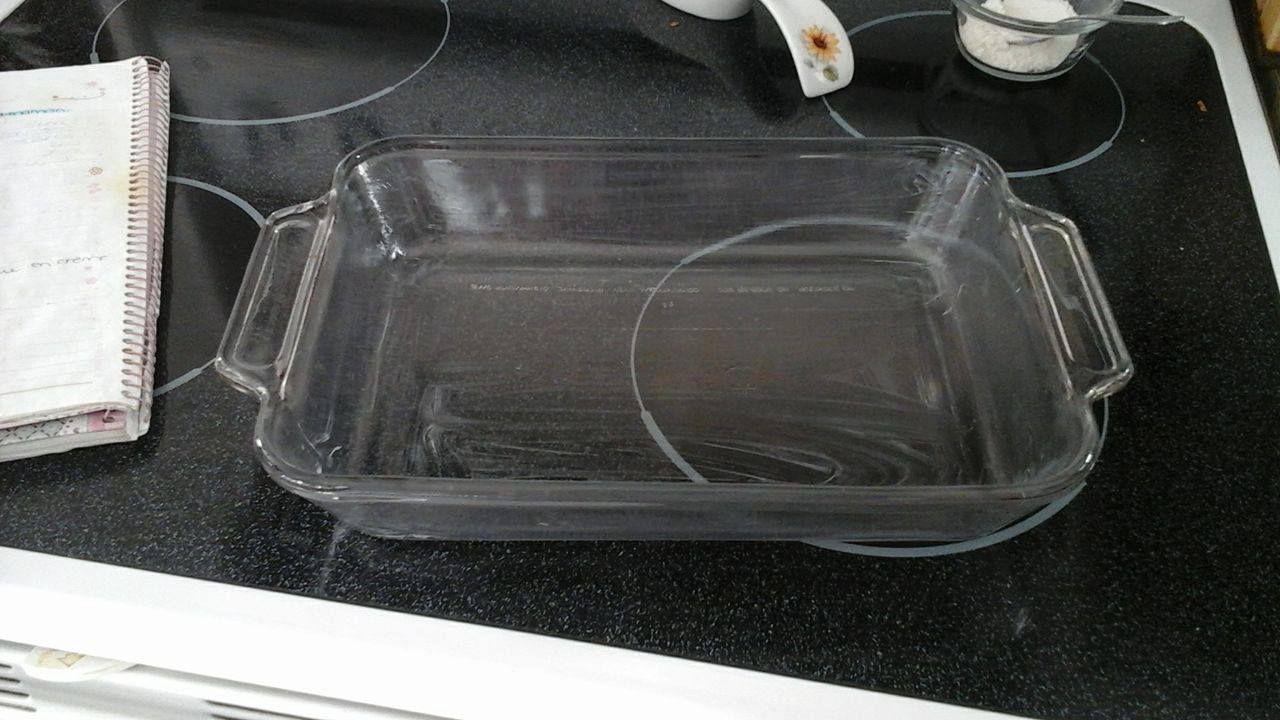 6 - Versez votre mélange puis mettez votre plat au four