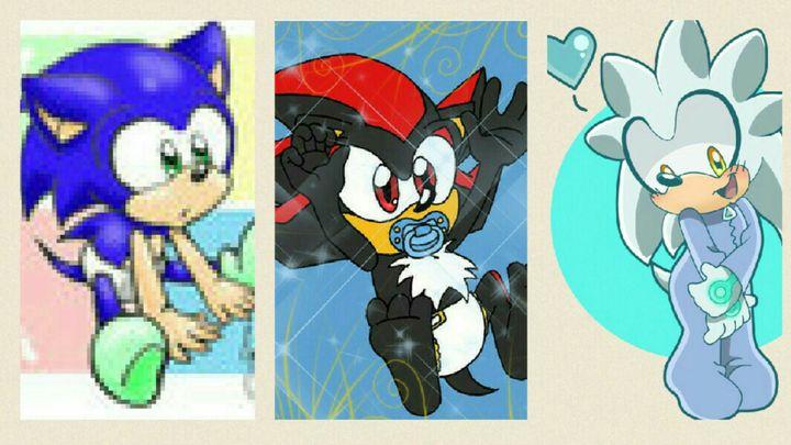 The S Bros Rp Baby Silver Shadow Sonic Wattpad